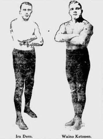 Ira Dern Waino Ketonen April 19 1922