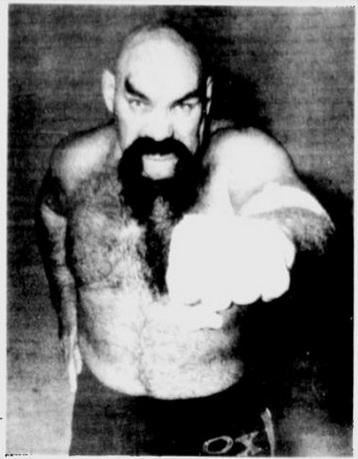 Pro Wrestler Ox Baker