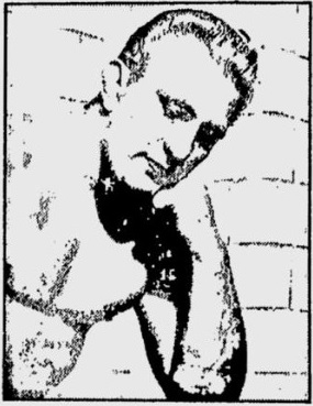 Buddy Rogers in pensive mood in 1949, above, and in a bejeweled cape in 1948