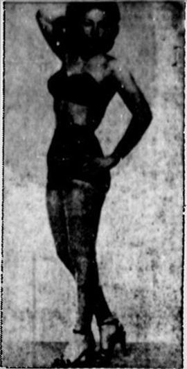 BONNIE WATSON, lady wrestler