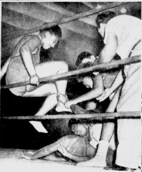 Babs Wingo Mary Horton v Betty White Katherine Wimbley 12-5-53