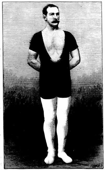 EDWIN BIBBY, THE NOTED WRESTLER