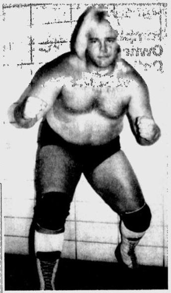"Wrestler ""Playboy"" Buddy Rose"
