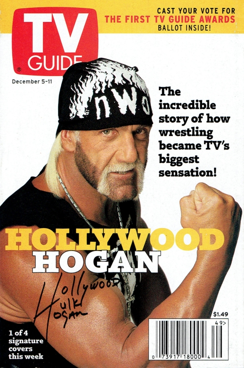 Hollywood Hogan - TV Guide cover