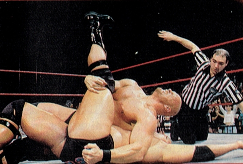 "STONE COLD STEVE AUSTIN Once he was Stunning Steve, a preening pro wrestler with a flowing, golden mane.  But Steve Austin isn't blond anymore, he's completely frosted: stone-cold furious at his opponents, at wrestling officials, at life in general.  That's his ring identity, anyway.  His raging-nihilist persona, which he has been using to ice WWF foes for the last three years, has proaic roots.  Austin, 33, was born Steven Williams in Victoria, Texas.  He was working on a loading dock when he decided to try his hand at tossing around bodies instead of boxes and joined the WCW as a pretty boy.  But he didn't last long, being dismissed in 1995.  (Austin claims he was dumped after he tore a tricep muscle; WCW president Eric Bischoff says, ""It was his lack of communication with [us], a relatively poor attitude and a long track record of injuries that made us think keeping him under contract wasn't a great idea."") ""I was really pissed off about the way I was treated, but getting fired from the WCW was the best thing that could have happened to me,"" says the 6-foot-2, 252-poud wrestler.  He reemerged later that year as a grappler who was less fabulous than furious on Extremem Championship Wrestling (yet another made-for-TV circuit), and his seething ring performances worked.  Austin was recruited by the WWF. That's when he chopped off the locks and forged his Stone Cold character – with a little help from cable TV.  ""I saw an HBO special on serial killers – that's what gave me the concept of a guy who basically doesn't give a damn about anybody.""  But the icon of anger is careful not to take his image too far.  ""I don't endorse serial killers in any way, shape or form,"" he says.  ""Stone Cold Steve Austin is basically a redneck from South Texas.""  Although he claims to have taken more than 200 stitches in his face (""There's people with more.  I'm just giving you my statistics""), Austin, who makes a reported $2 million a year, wants to keep wrestling as long as he can.  ""There's nothing like being in front of 15,000, 20,000 people.  It's a pure adrenalin rush.  I like being in front of people.  When I'm done with this, I'd like to try some Hollywood acting.""  - M.L."