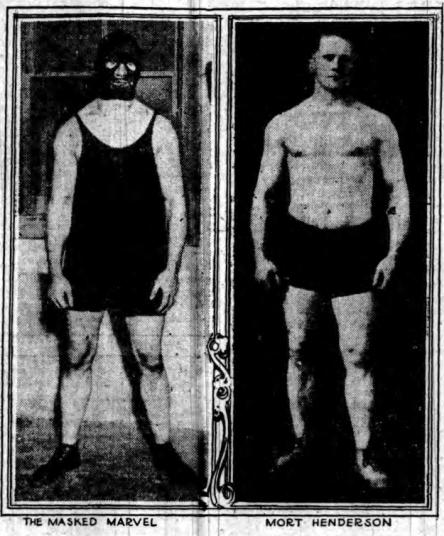 Masked Marvel Mort Henderson 1-5-1916